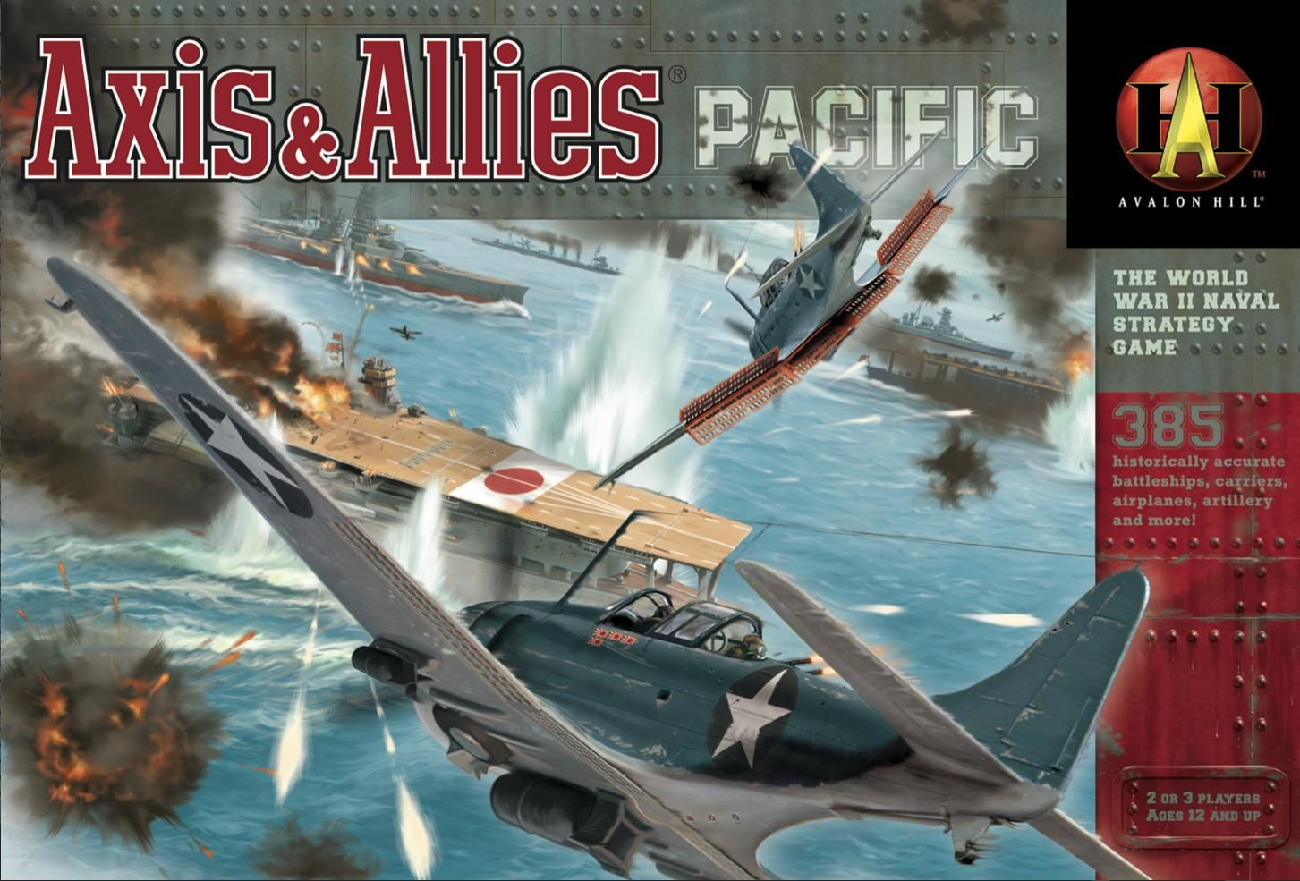 Axis & Allies. Commissioned by Hasbro Games Board games