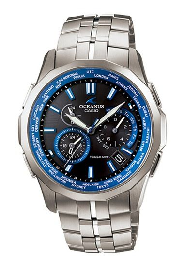 562ee8b7927 Casio Oceanus Manta OCW-S1400-1AJF. World time function