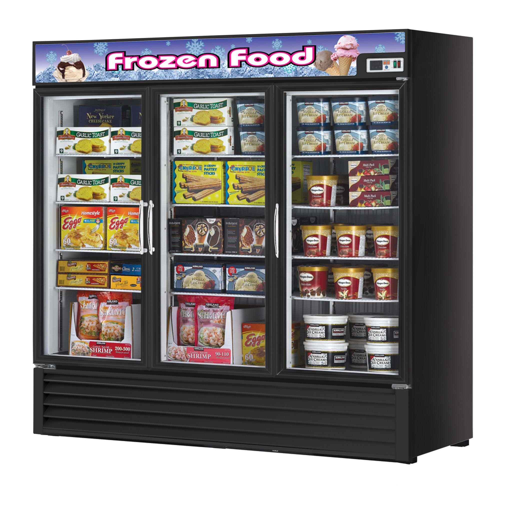 Freezer 72 Cu. Ft, 3 Swing Doors // Congelador 72 Pies
