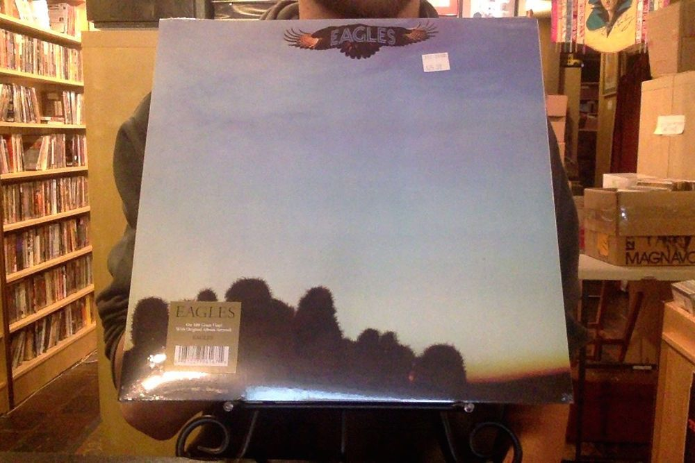 Eagles s/t LP sealed 180 gm vinyl RE reissue self-titled #PopRock