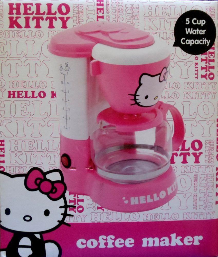 Hello Kitty Coffee Maker APP36209 Pretty Pink Girl