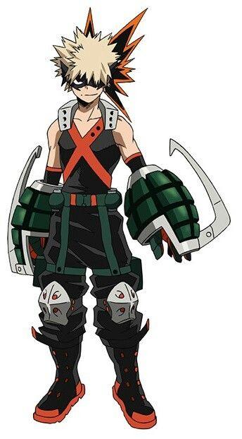 My Hero Academia Character Design Hero Costume Bakugo Personagens De Anime Anime Bakugou