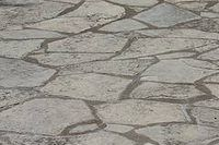 Good How To Paint Fake Flagstone On A Patio (13 Steps)   EHow