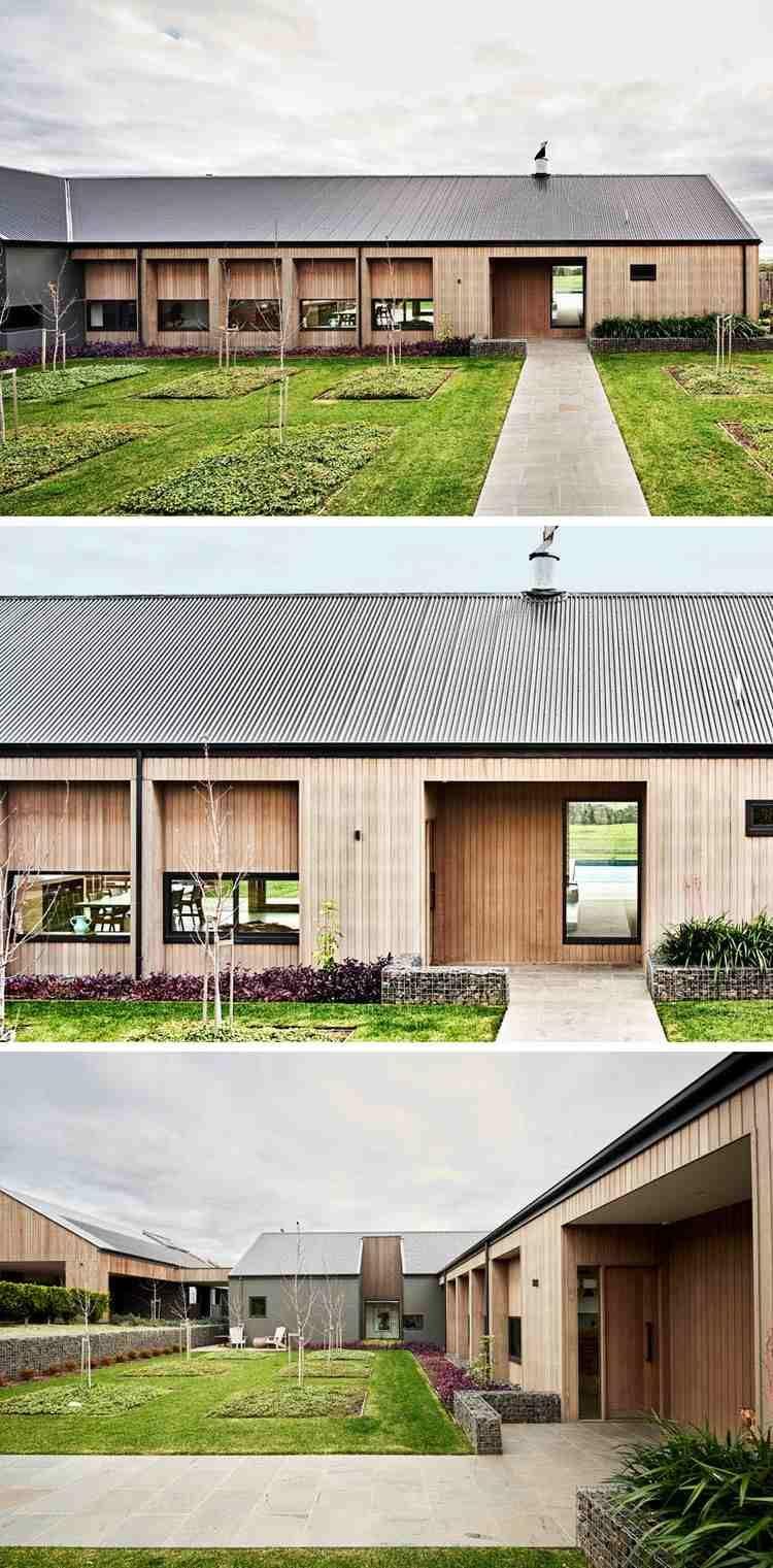 Aménagement Intérieur Maison : Un Ranch Au Style Moderne Et Rustique En  Australie