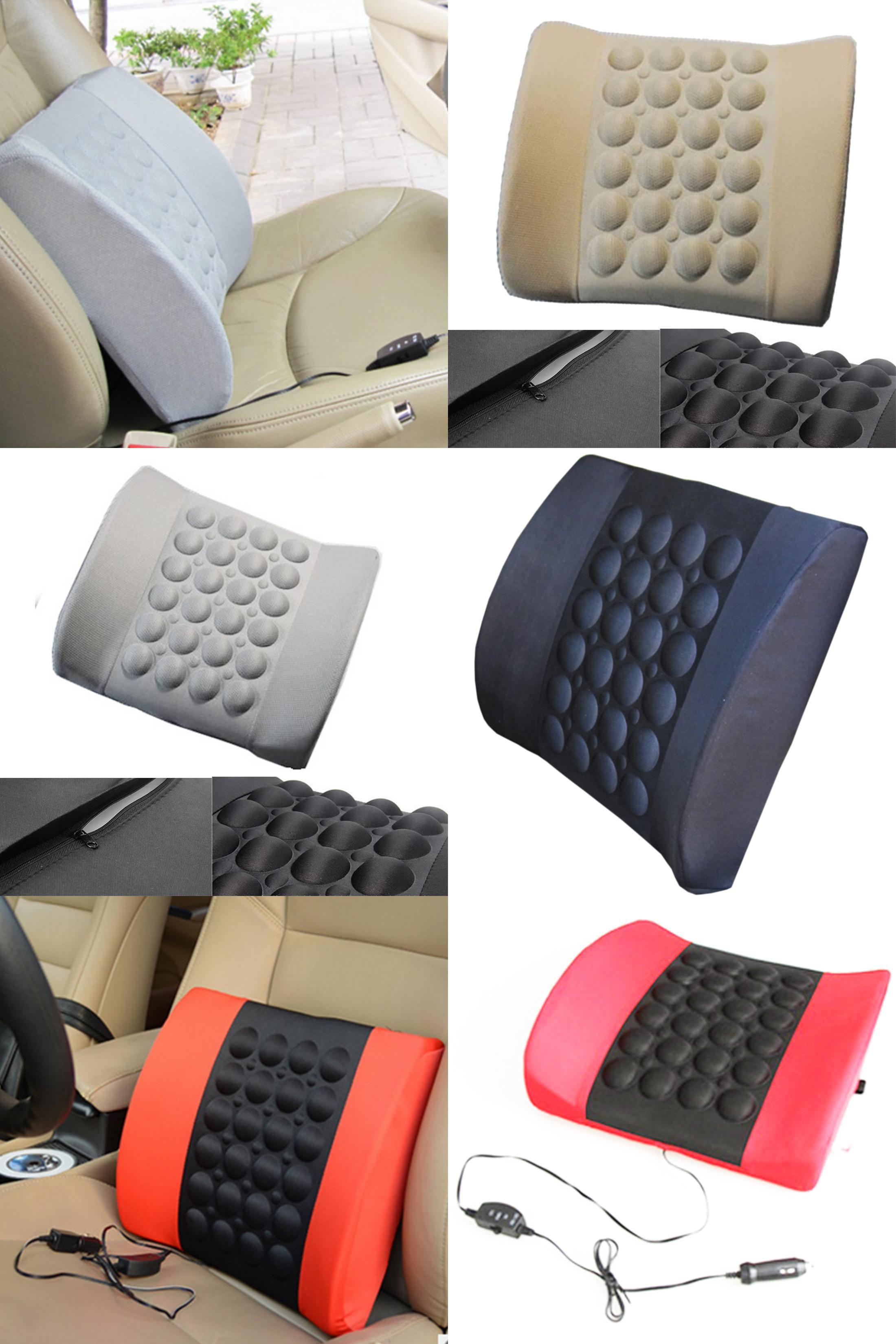 Visit to buy multifunctional electrical car massage lumbar support