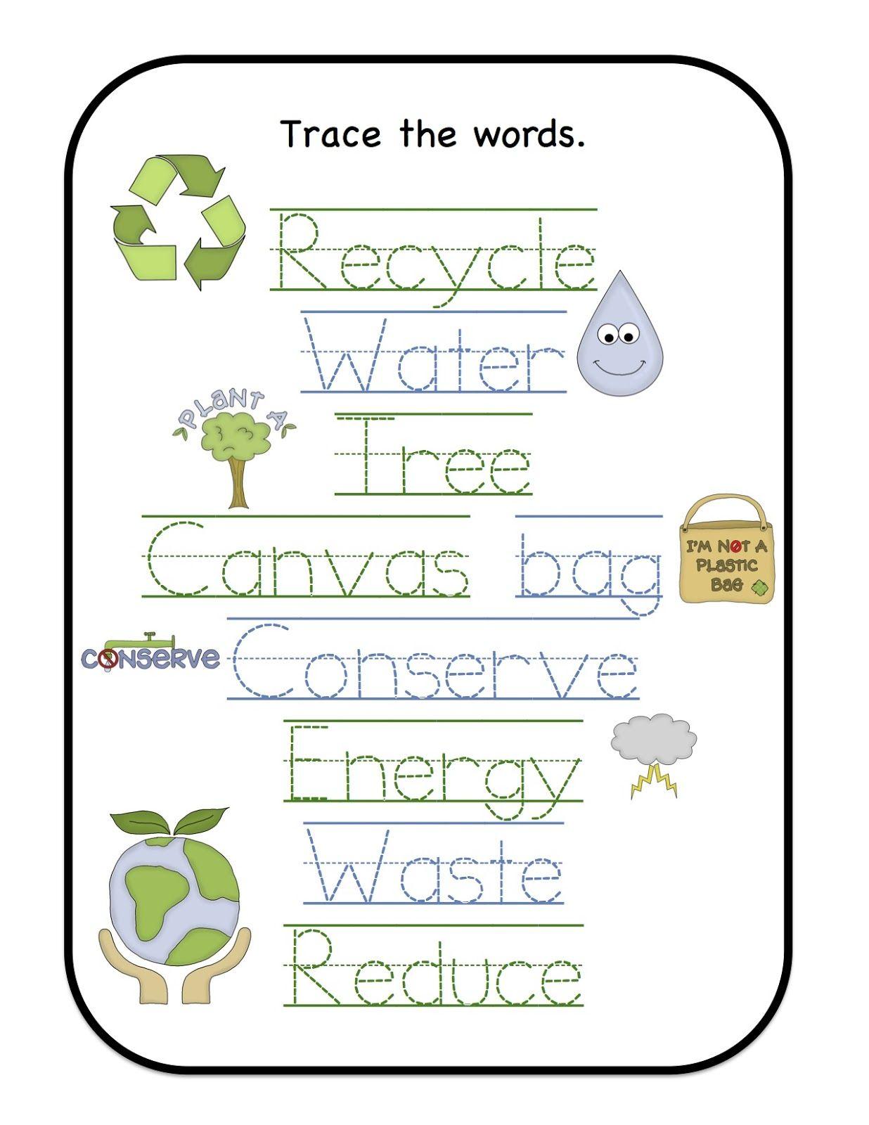 Preschool Printables Earth Day Worksheets Preschool Printables Earth Day [ 1600 x 1236 Pixel ]