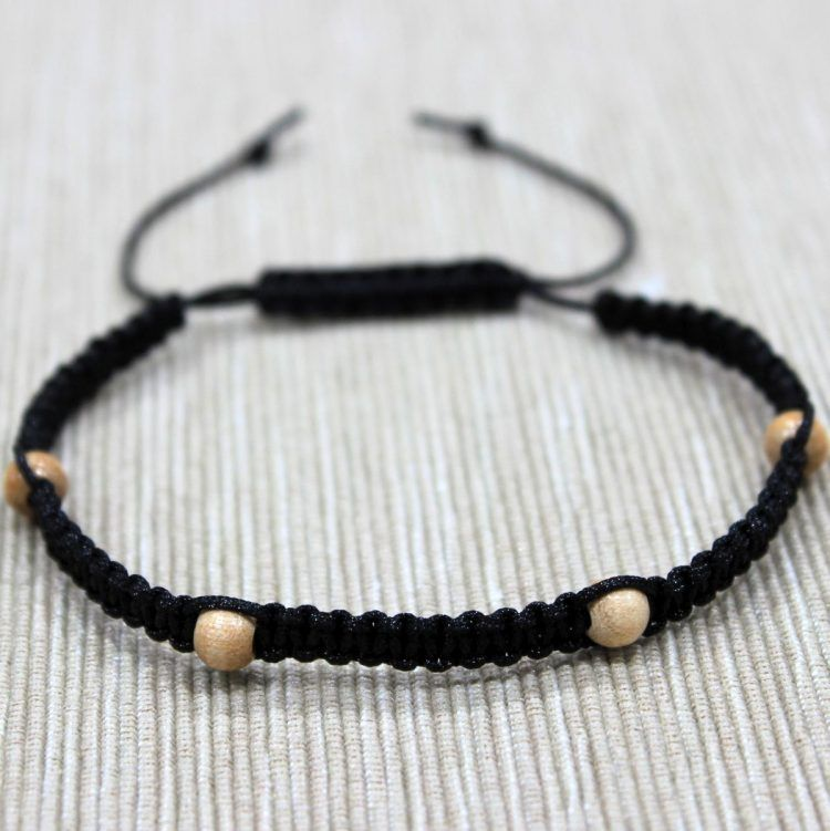 Homemade Wooden Bracelets Simple Jewelry Designs Macrame
