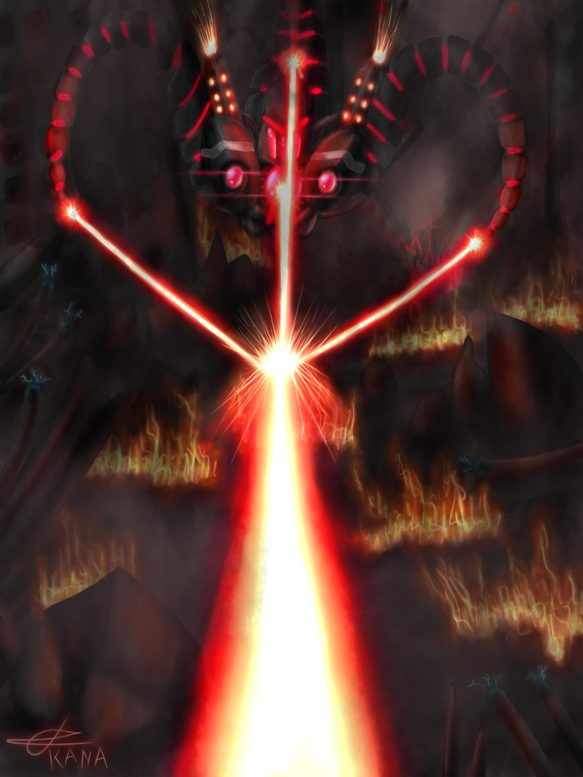 Battlecast Vel'Koz by Kana-The-Drifter