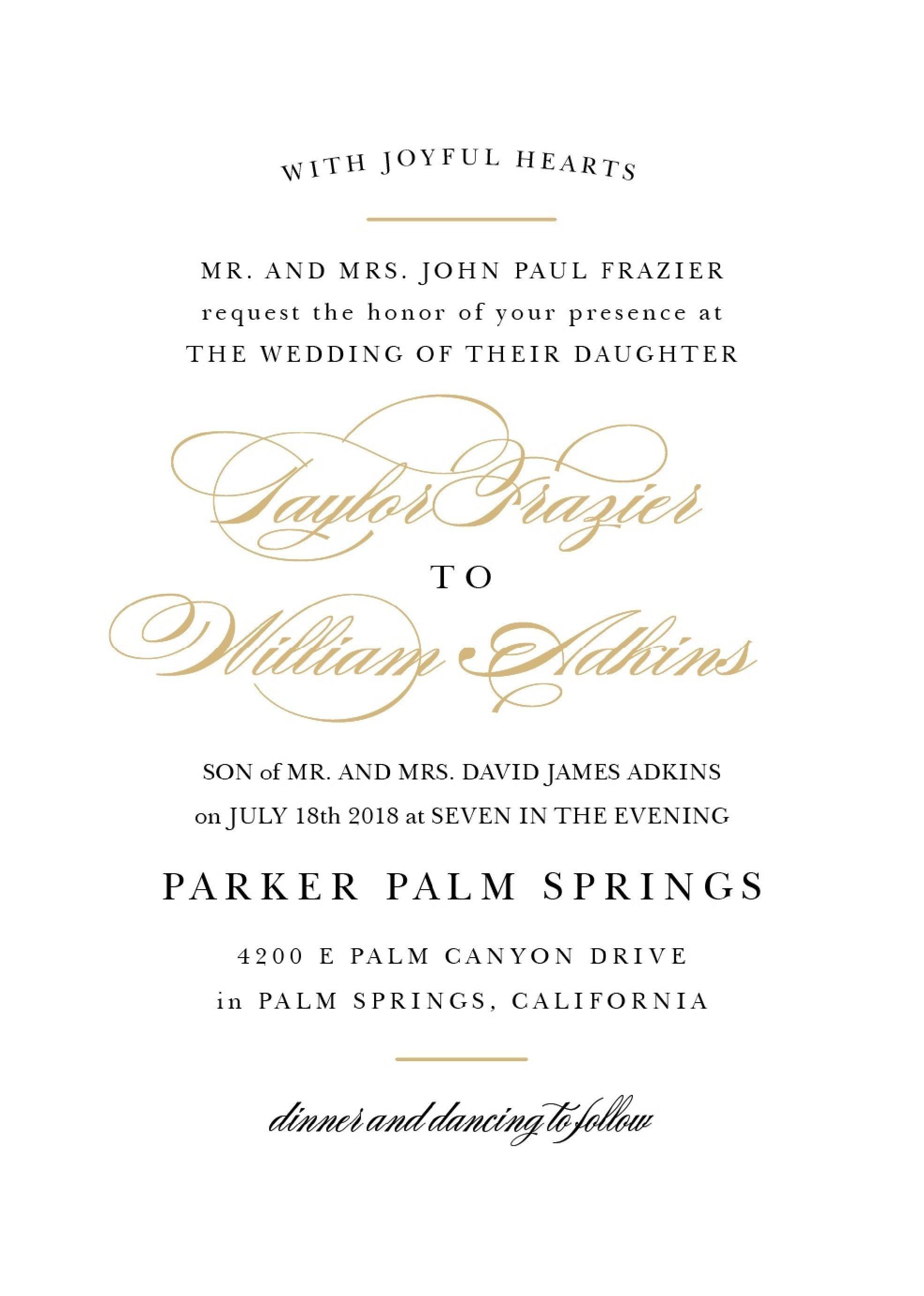 Wedding Invitation Wording Samples Design Wedding Invitations Examples Sample Wedding Invitation Wording Wedding Invitation Wording Templates