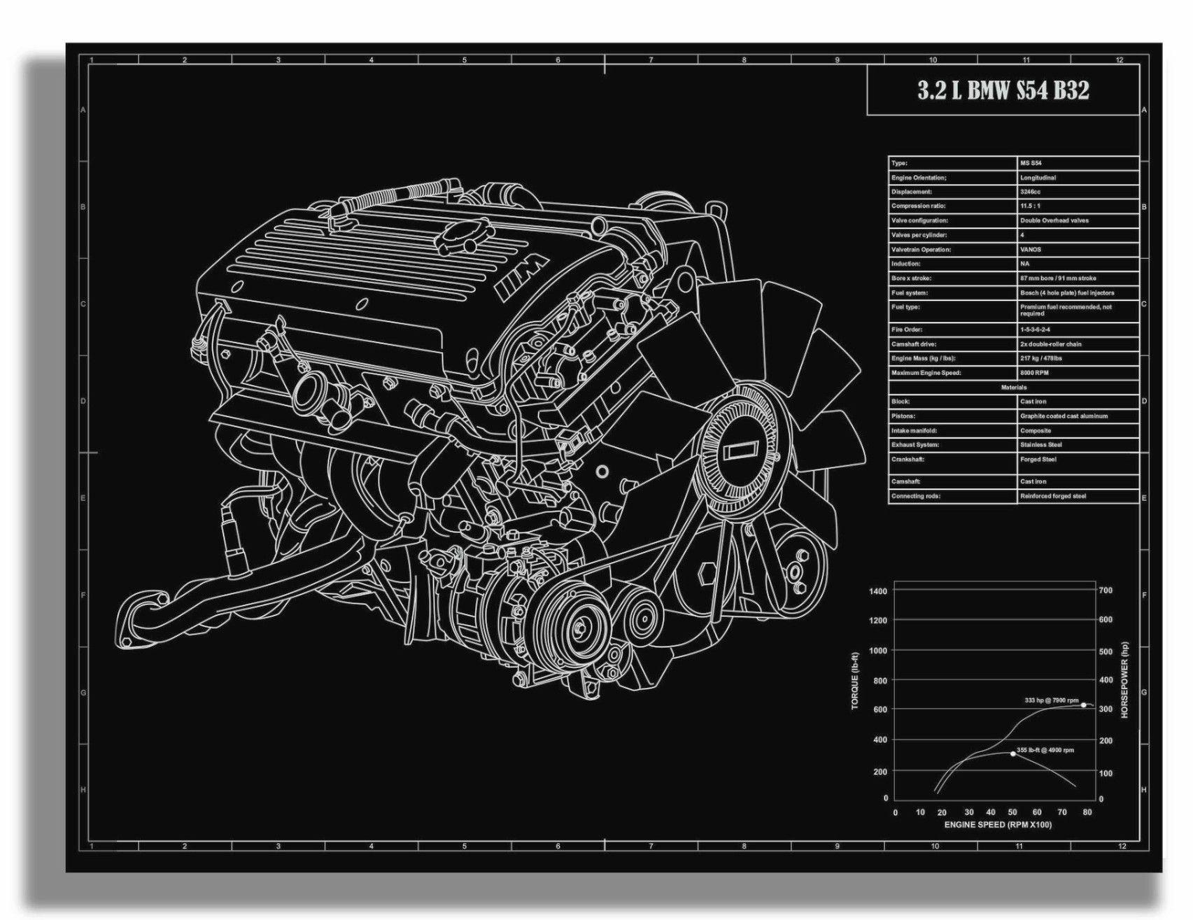 hight resolution of bmw e46 m3 s54 b32 engine engine bmw bmw cars bmw e46 2002 bmw e46 s54 m3 wiring diagram