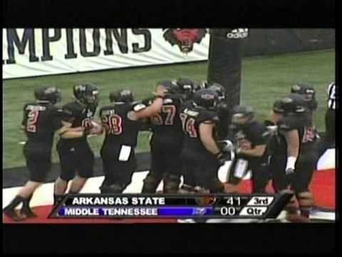 Arkansas State vs. Middle Tennessee 2012 (Sun Belt Championship) - YouTube
