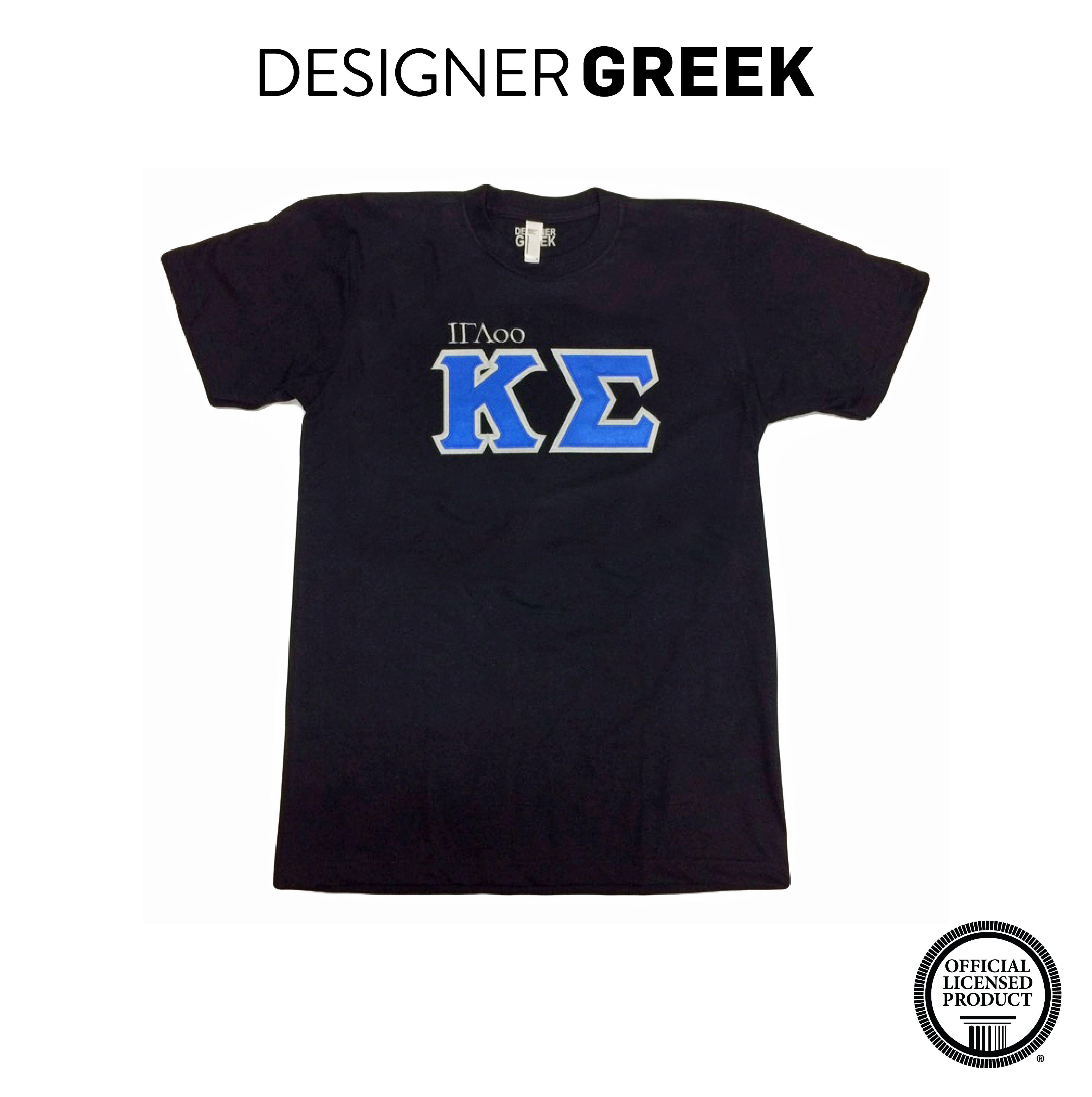 64e01b7f Kappa Sigma Greek Gear   Fraternity Apparel   Sew On Letters   DesignerGreek