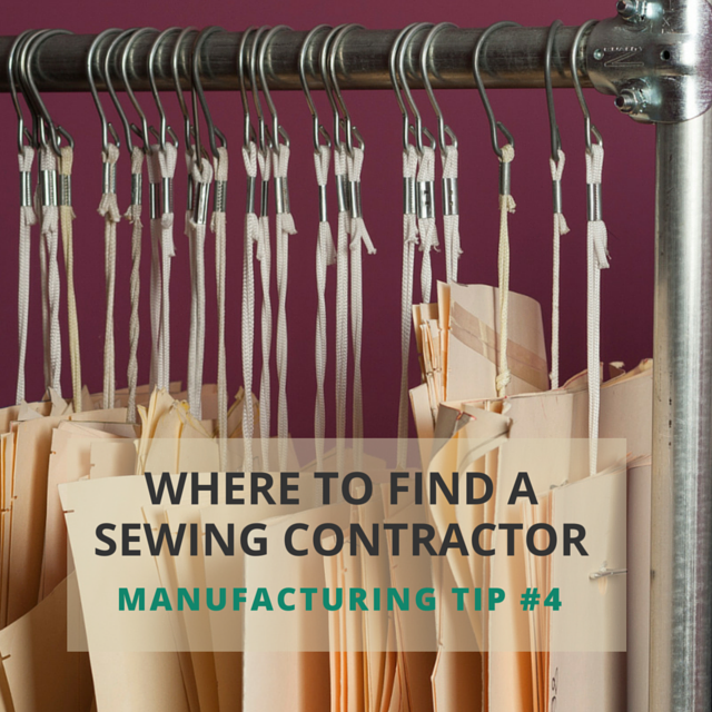 Tip #4: Where to Find a Sewing Contractor in the US