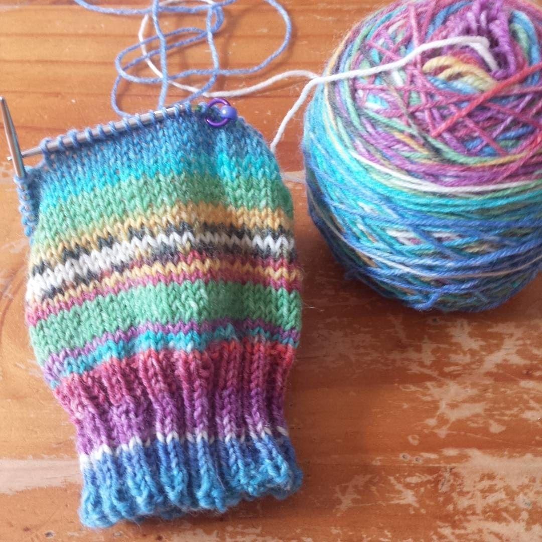 Delicious stripy socks on my needles the yarn is opal sweet and delicious stripy socks on my needles the yarn is opal sweet and spicy 3 colour bankloansurffo Gallery