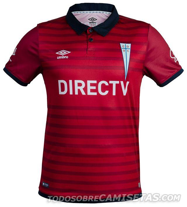 Tercera camiseta Umbro de Universidad Católica 15 16 Camiseta Chile ca9125ad6beca