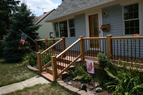 More Front Deck Inspiration Front Porch Deck Decks And Porches