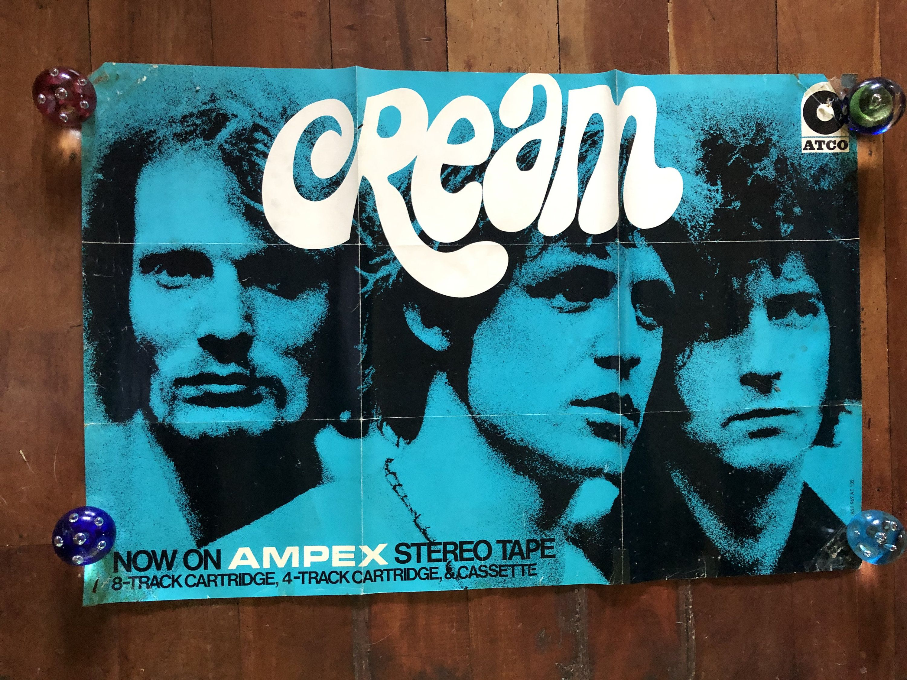 Cream 1967 Ampex Records Tapes Atco Original Rare Vintage Etsy In 2020 Vintage Music Vintage Music Posters Old Fonts