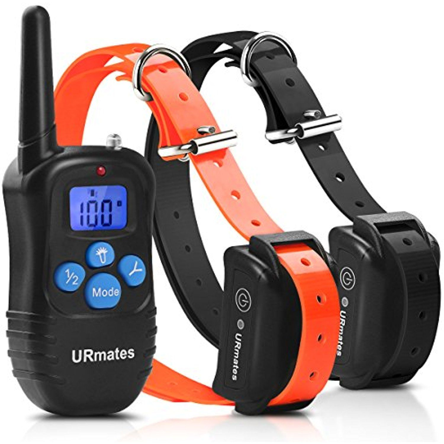 Urmates Upgrade Dog Training Collar With Remote Beep Vibration