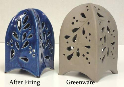 The Drying And Firing Process Of Clay Physically And Chemically Slab Ceramics Pottery Art Ceramic Lantern