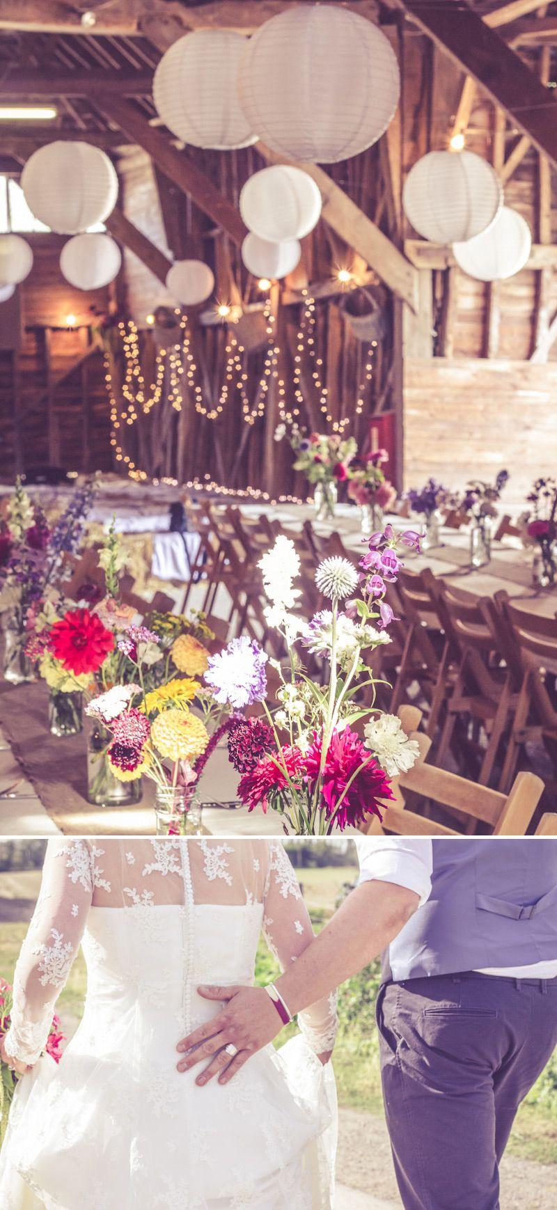 Diy elegant wedding decorations  A Rustic DIY Wedding With Wookie Photography  Rustic diy weddings