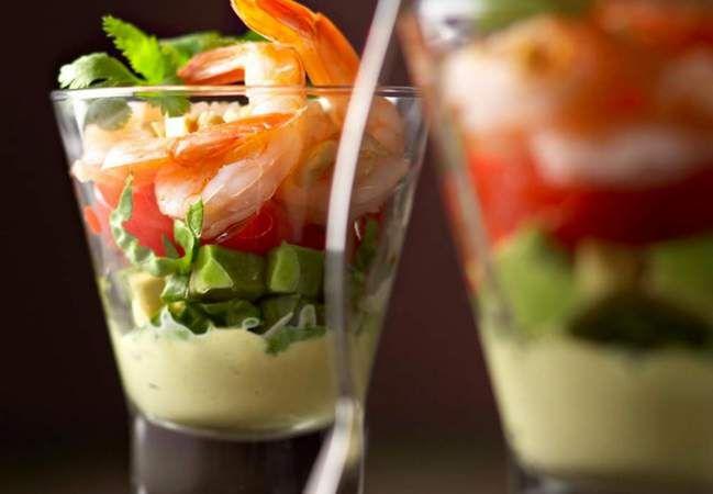Plus de 30 recettes de verrines salées bluffantes