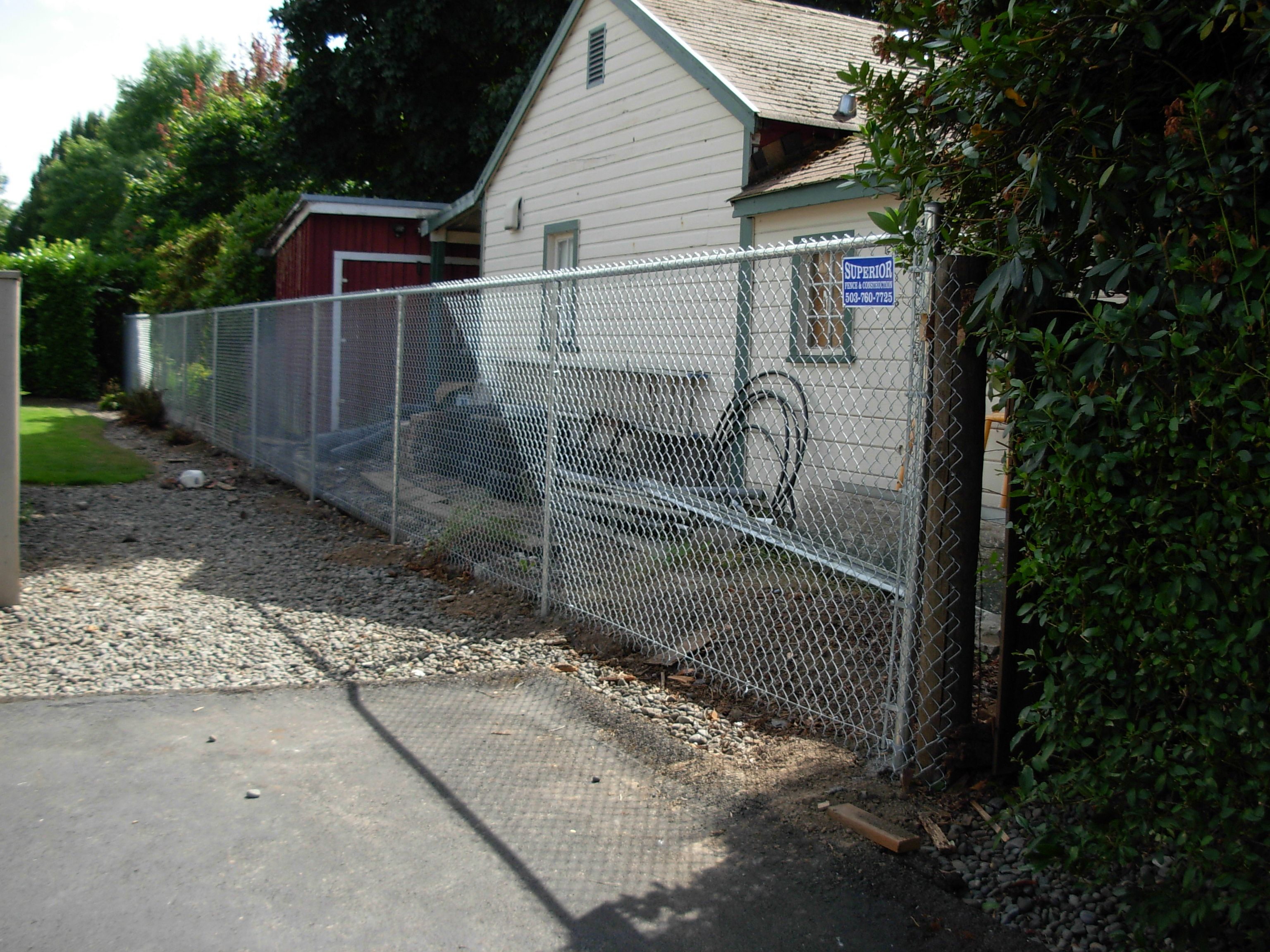 Protect Your Property With A Chain Link Fence 503 760 7725 Fence Contractor Wood Fence Fence