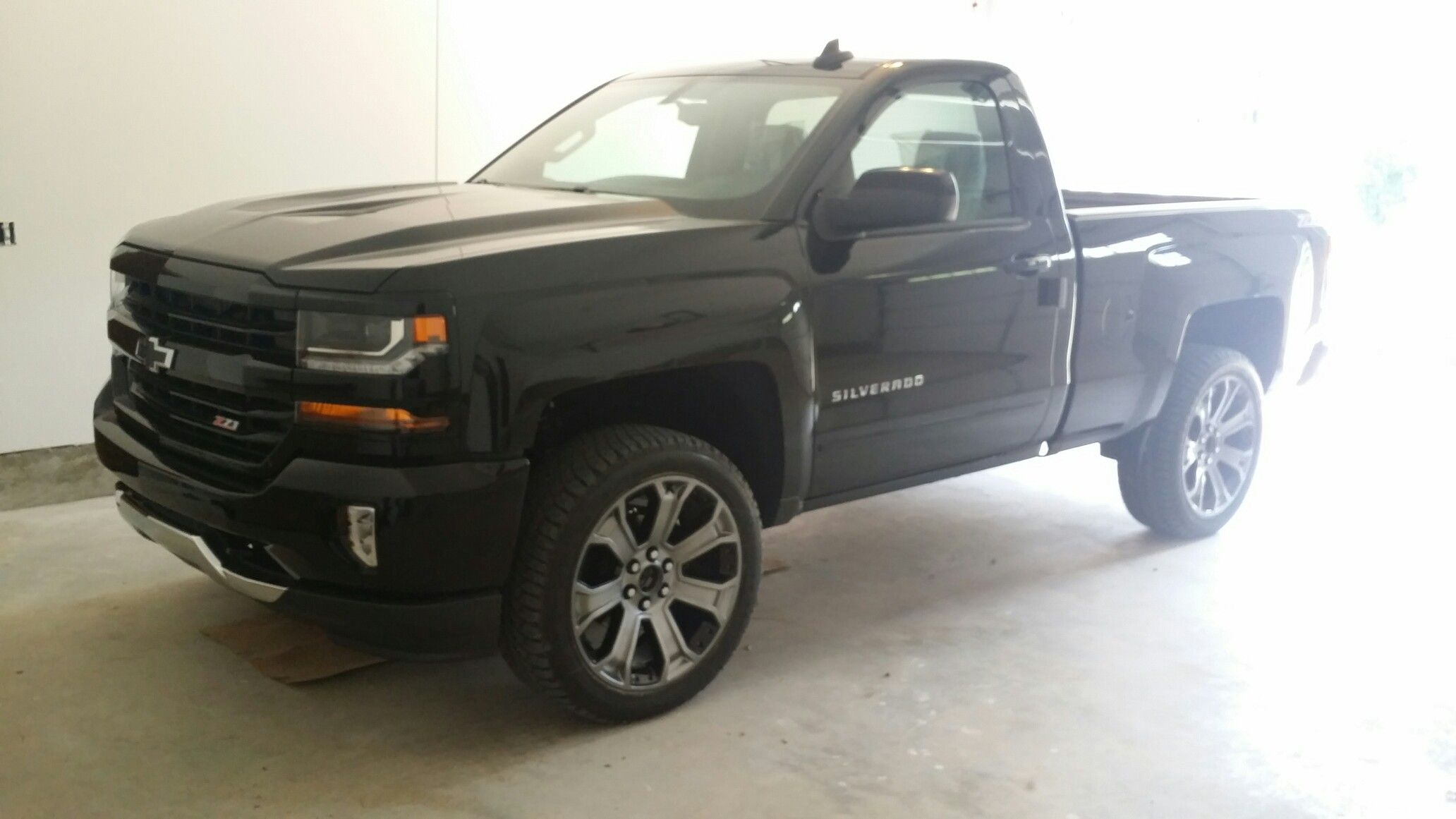 2016 Supercharged Regular Cab Z71 Silverado Silverado