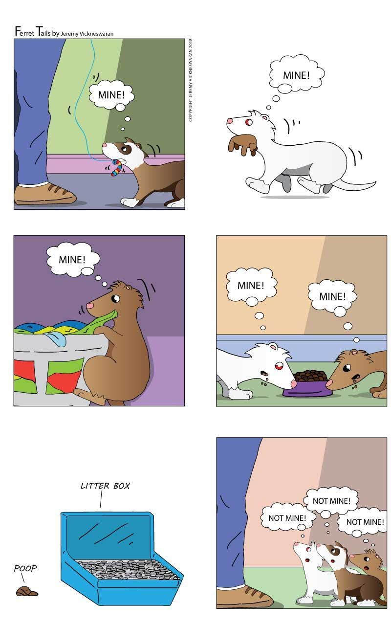 Pin by Jeremy V on Ferret Tails Cartoon (With images