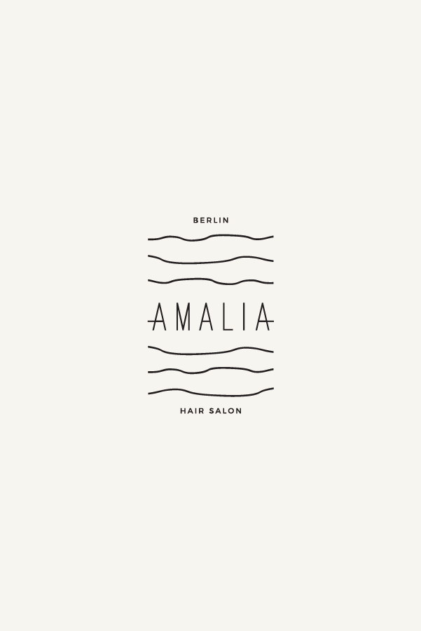 Amalia Logo Design Minimal Logo Design Inspiration Minimal Logo Design Salon Logo Design