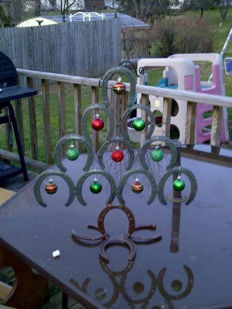 Horseshoe Christmas Tree Horseshoe Christmas Tree Horseshoe