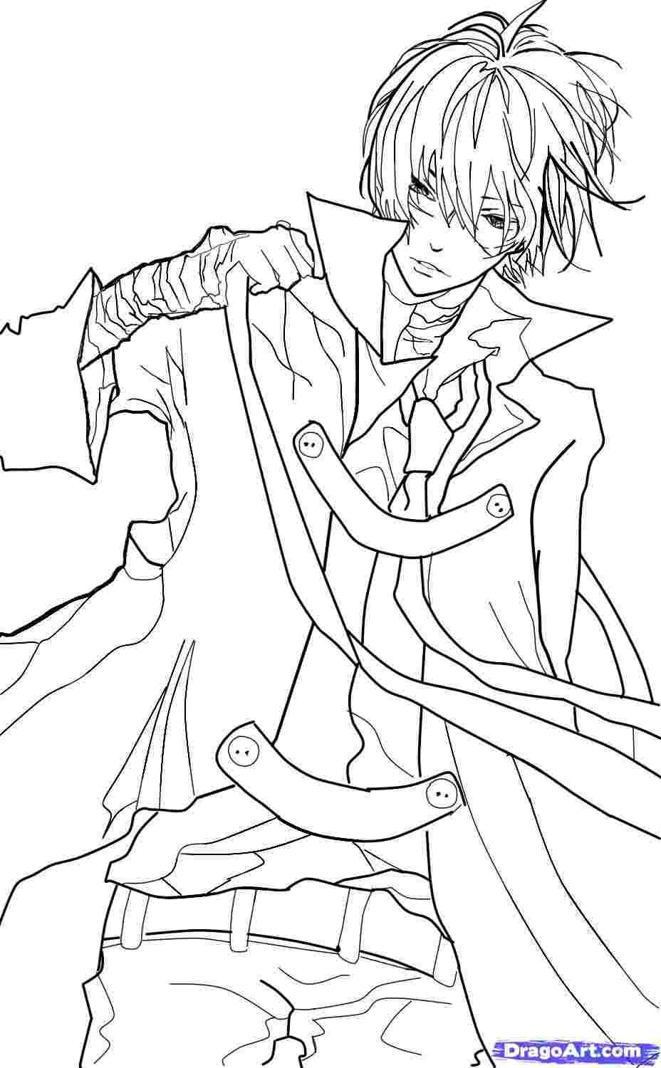 Anime Coloring Pages For Boys Coloring Pages For Boys Chibi Coloring Pages Boy Coloring