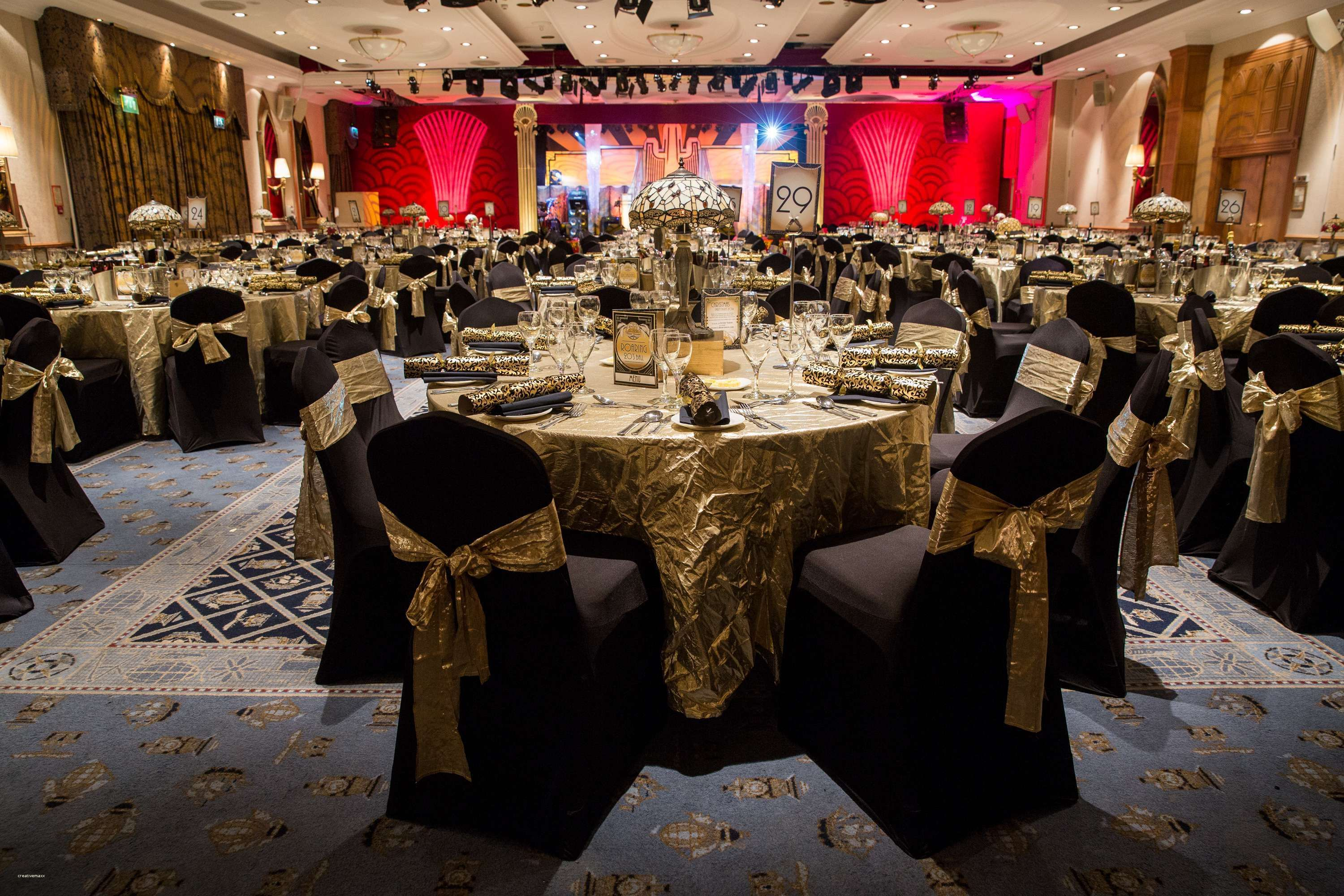 elegant corporate christmas party