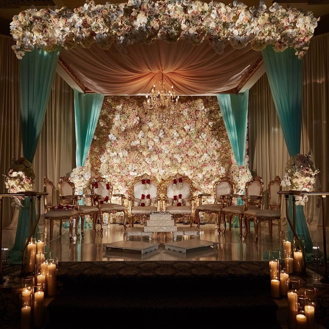 Floral Draping Luxury Rentals Full Service Event Design Nj Nyc Dallas Indian Wedding Decorations Wedding Mandap Wedding Backdrop