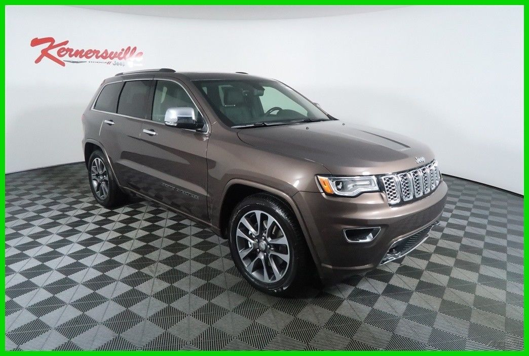 cool Amazing 2018 Jeep Grand Cherokee Overland 4WD V8 HEMI SUV Sunroof  Leather Navigation 2018 Jeep