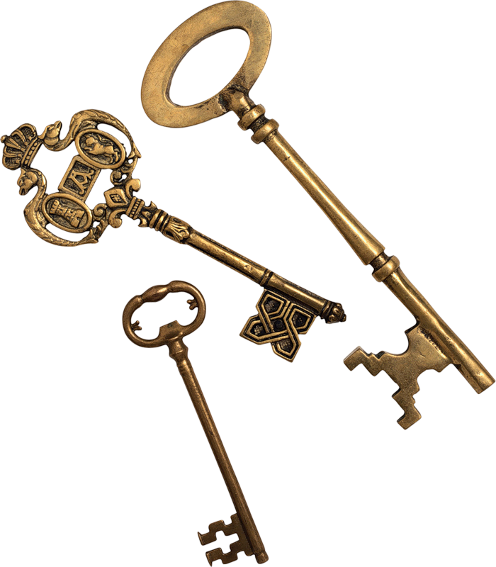 ключи для замка картинка модели