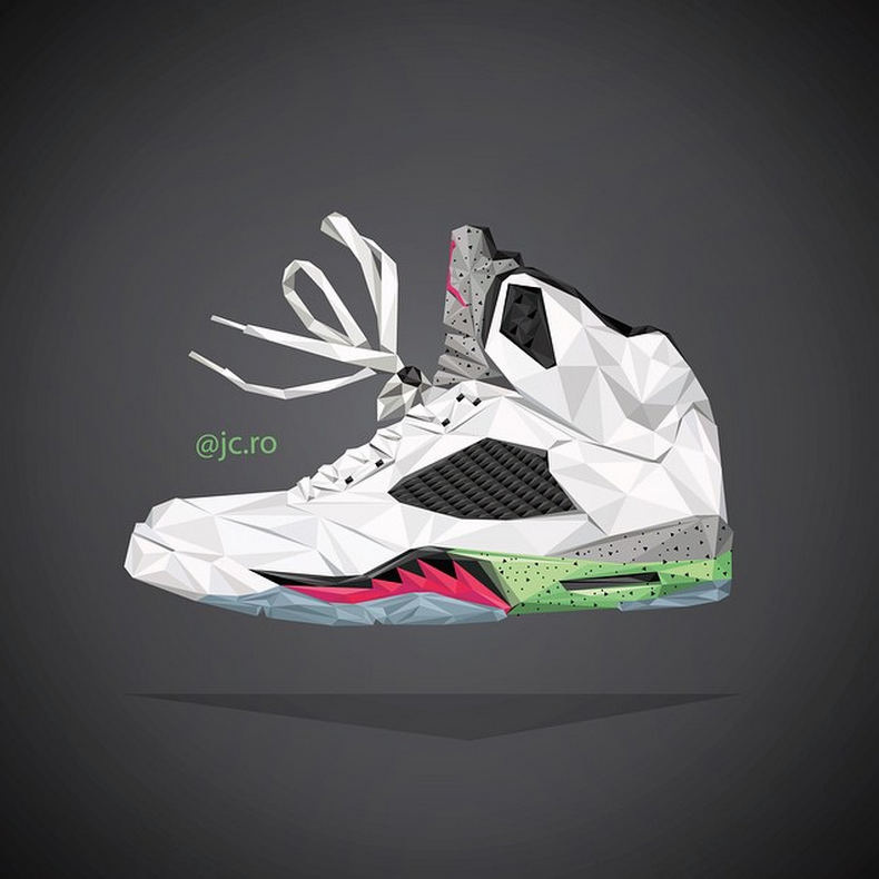 @jc.ro Nike Jordan Sneaker artwork
