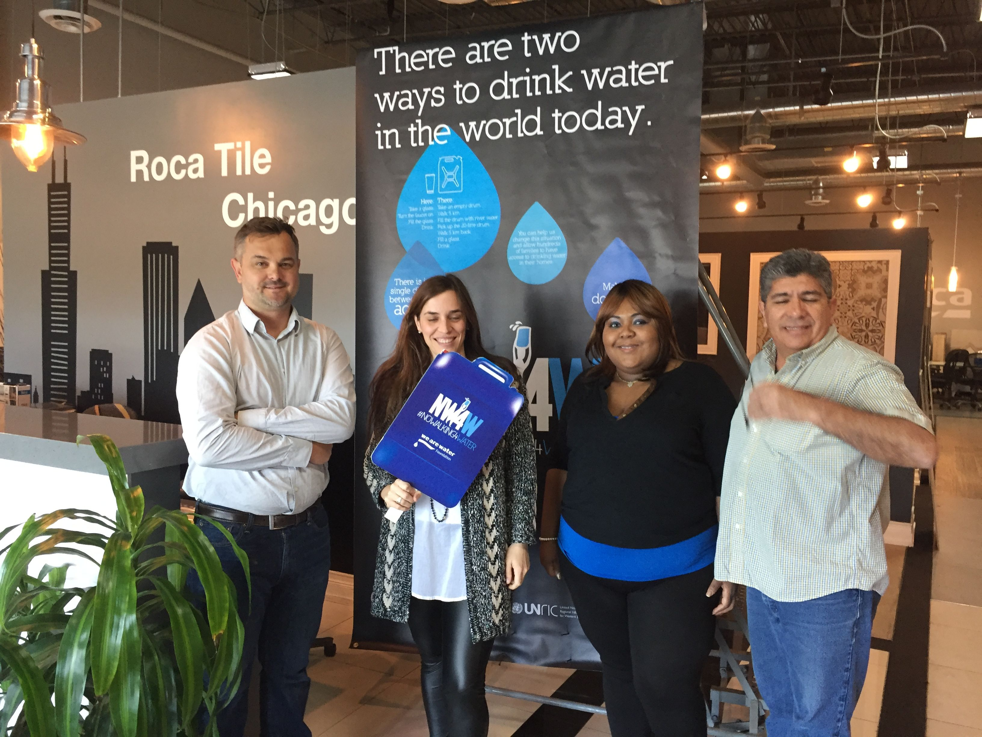 Celebrating The Worldwaterday At Roca Chicago