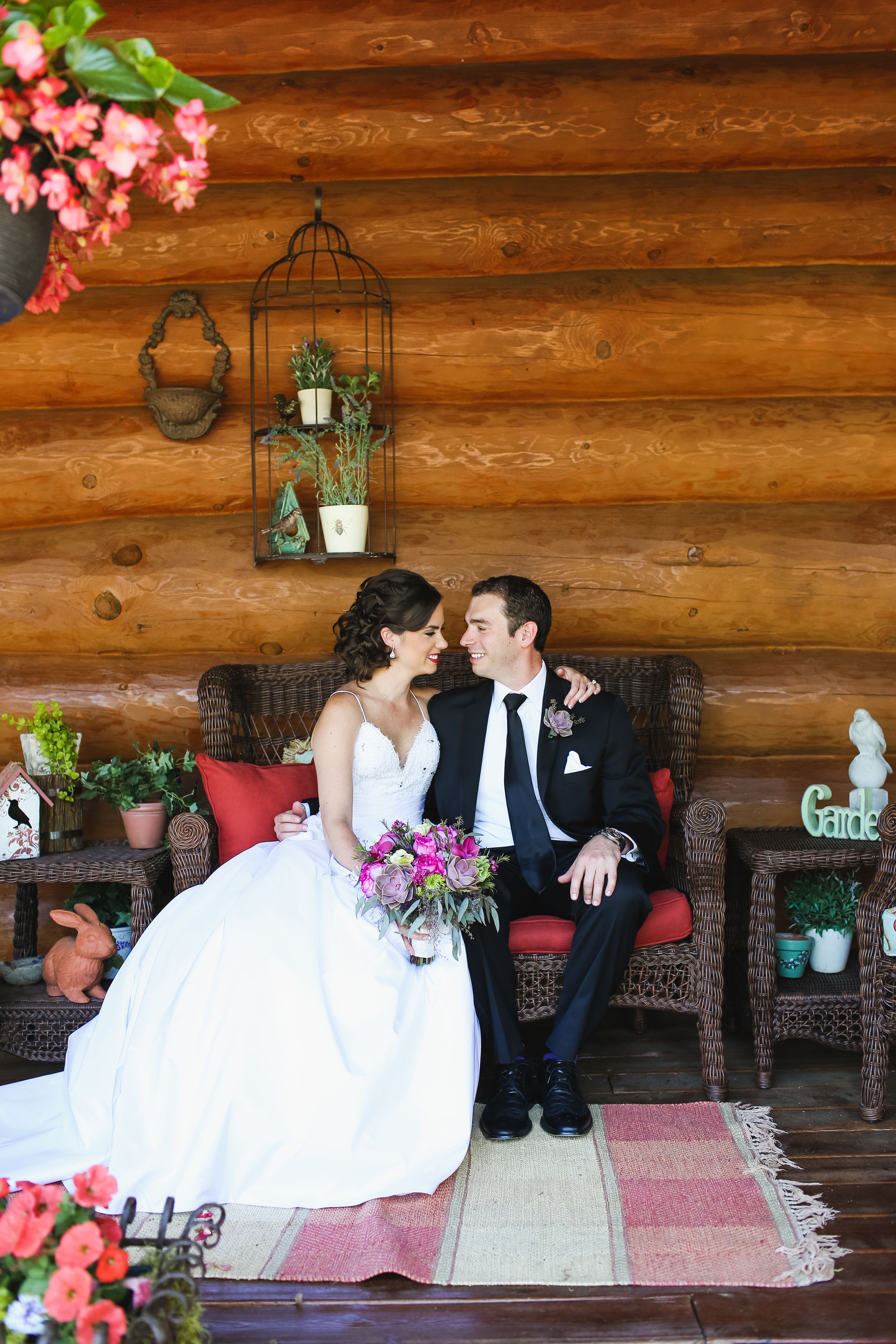 A Rustic Bed and Breakfast Wedding at Sunset Cove in