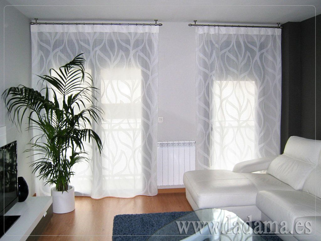 Cortinas modernas sala mi casa esplendida for Ideas cortinas salon