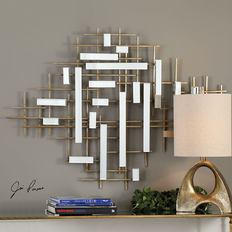 Apollo Gold And Mirrored Wall Art Mirror Wall Art Mirror Design Wall Mirror Wall Decor