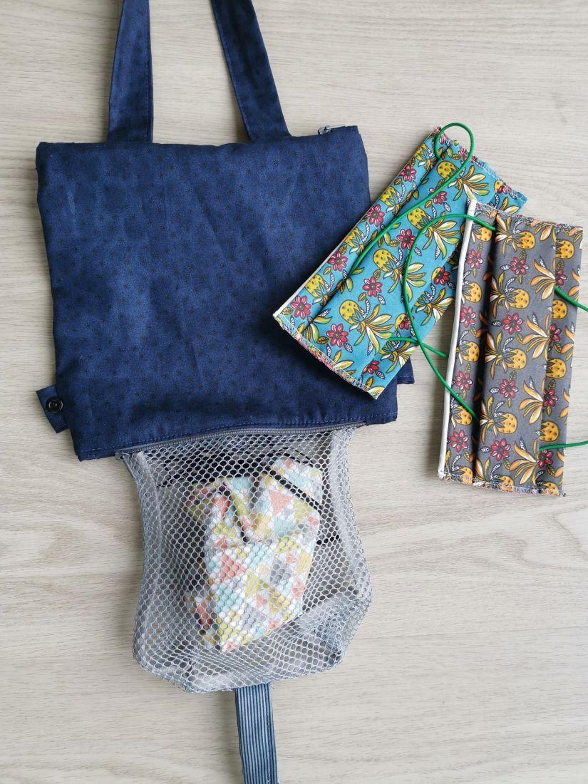 Coudre un sac à masques sales : pour laver vos masques barrières en toute sécurité
