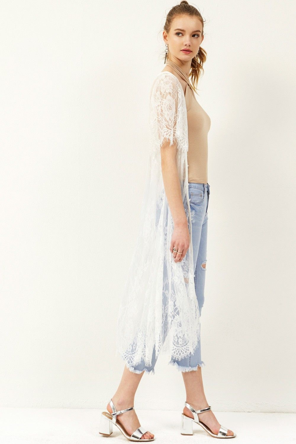 Sharry Lace Maxi Cardigan Discover the latest fashion trends ...