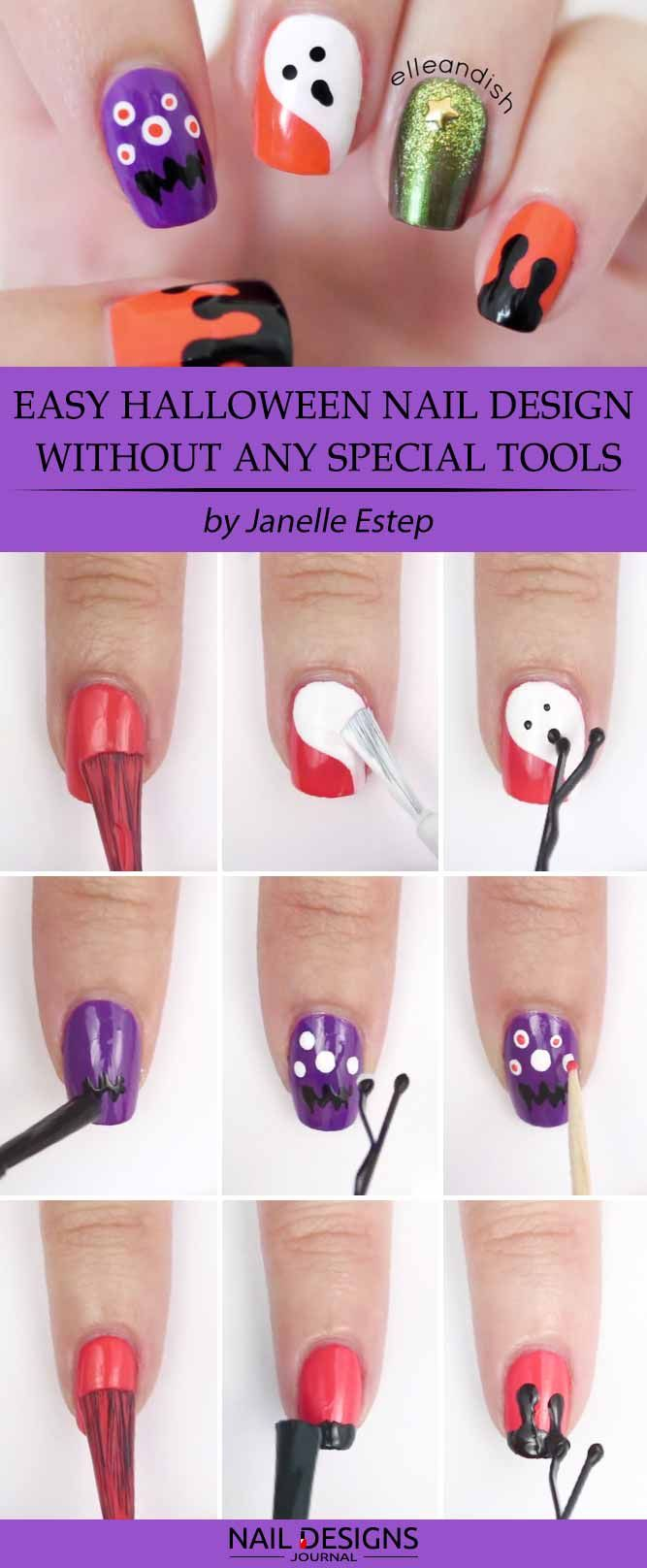 7 Halloween Nail Art Ideas Tutorials For Creative Beginners