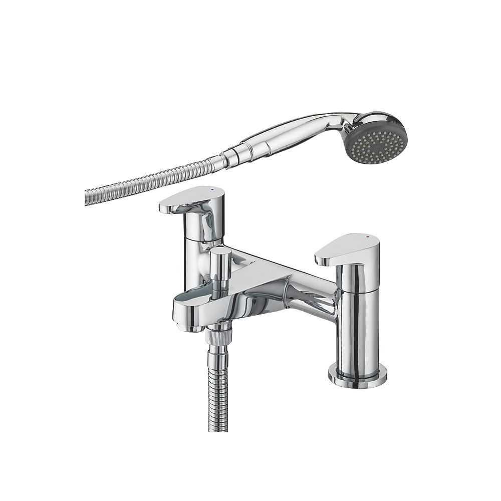 bristan quest surface mounted bath shower mixer tap bath taps bristan quest surface mounted bath shower mixer tap bath taps screwfix