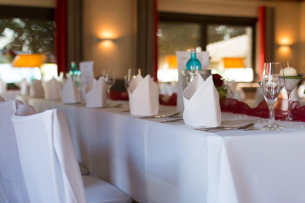 Eingedeckt Für Eine Hochzeit Im Gasthaus Krüger In Grafhorst Dj