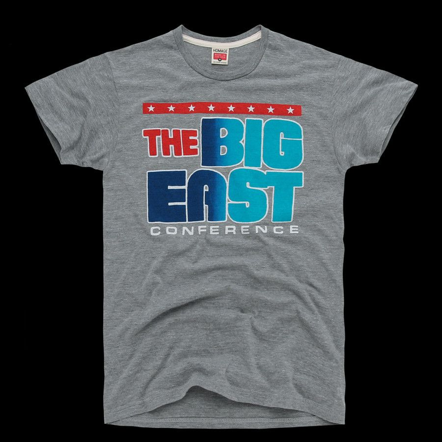 meet ae596 68579 Vintage Big East Conference T-Shirt Georgetown Hoyas, Boston College, Final  Four,