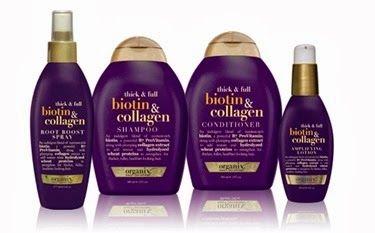 Review Organix Biotin Collagen Shampoo And Conditioner Organix