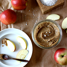 Raw Salted Caramel Apple Dip | My New Roots