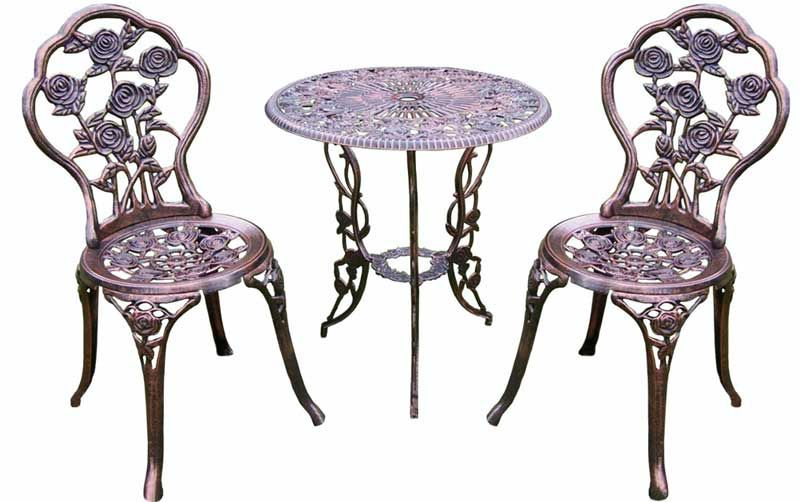 Oakland Living Rose Patio Outdoor Bistro Set