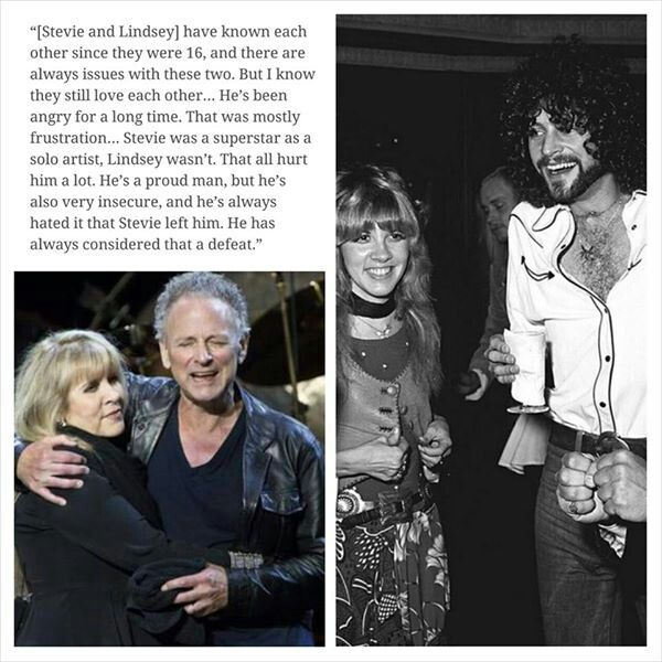 Mick Fleetwood discussing Stevie Nicks and Lindsey